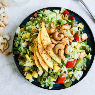 Chopped Cashew Chicken Salad
