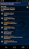 Screenshot of Southland Conference