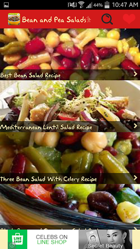 Bean and Pea Salads Recipes