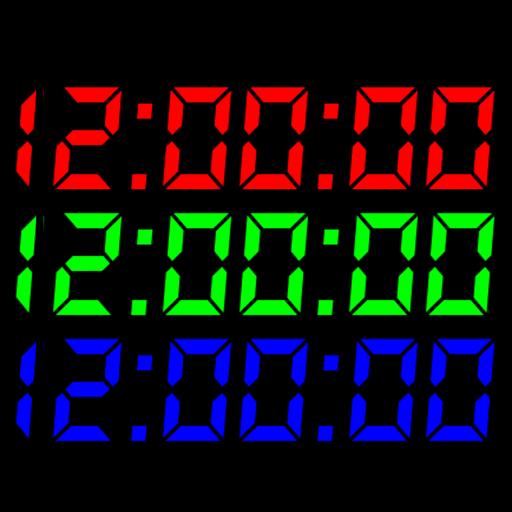 數字時鐘S動態壁紙 個人化 LOGO-阿達玩APP