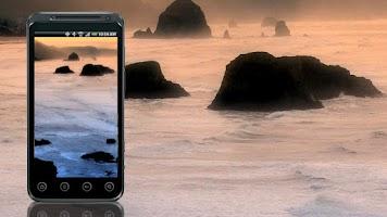 Screenshot of Coastal Beach Live Wallpaper