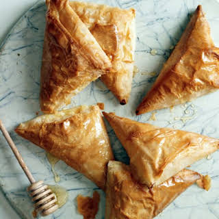 Honey-Ricotta Turnovers.
