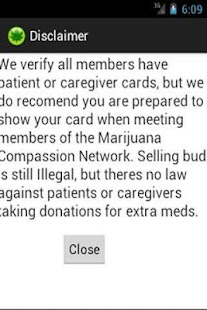 Marijuana Compassion Network - screenshot thumbnail