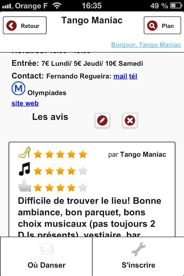 Tango Maniac - screenshot