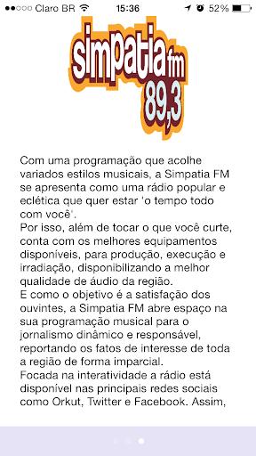 【免費音樂App】Simpatia FM-APP點子