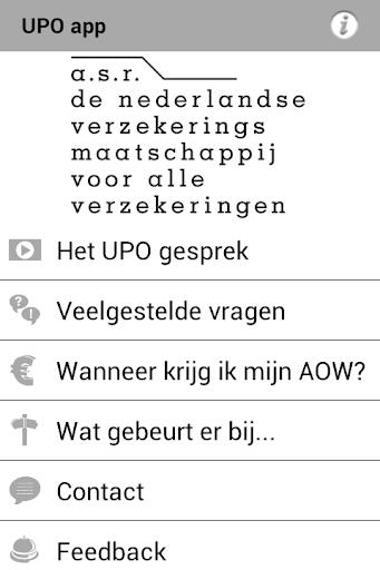 UPO app