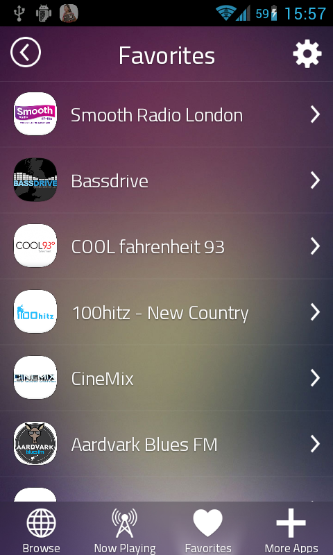 Cool Radio Stations- screenshot