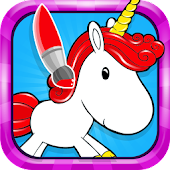 Unicorn Rainbow Coloring