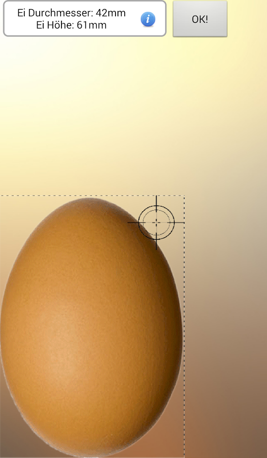 The perfect egg timer - screenshot