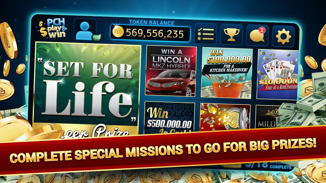 PCH Play & Win - Revenue & Download estimates - Google Play Store - US