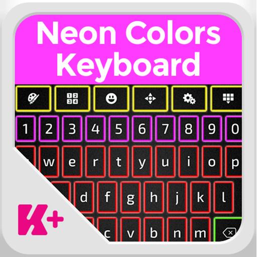 霓虹色键盘 LOGO-APP點子