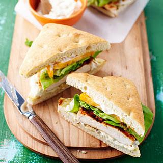 Spicy Grilled Chicken Sandwiches.