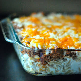 Sour Cream Noodle Bake.