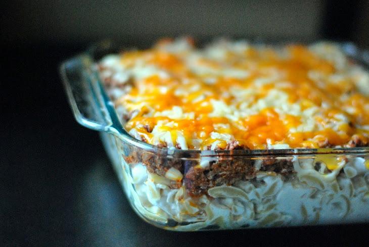 Sour Cream Noodle Bake Recipe