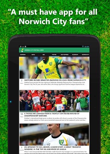 【免費運動App】Norwich City Football News-APP點子