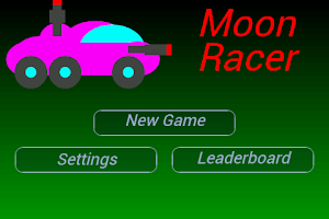 Screenshot of Moon Racer - 2D Retro Shooter
