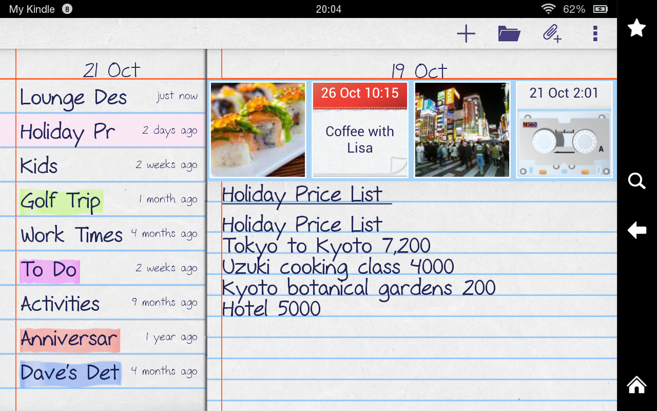notePad Free Photos,Sounds- screenshot