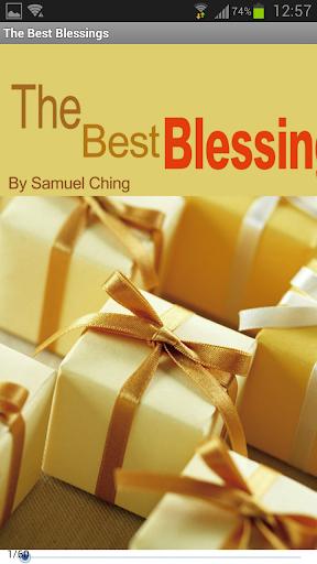 The Best Blessings-Gospel Book