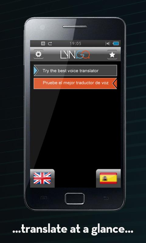 Lyngo voice translator - screenshot