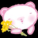 """""""쿠마쿠쿠 플라워"""" 고락커 테마 icon"""