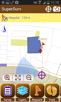 SuperSurv M3--GIS App