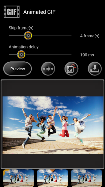 High-Speed Camera (GIF,Burst)- screenshot