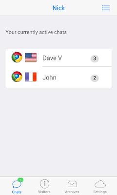 Live Chat - screenshot