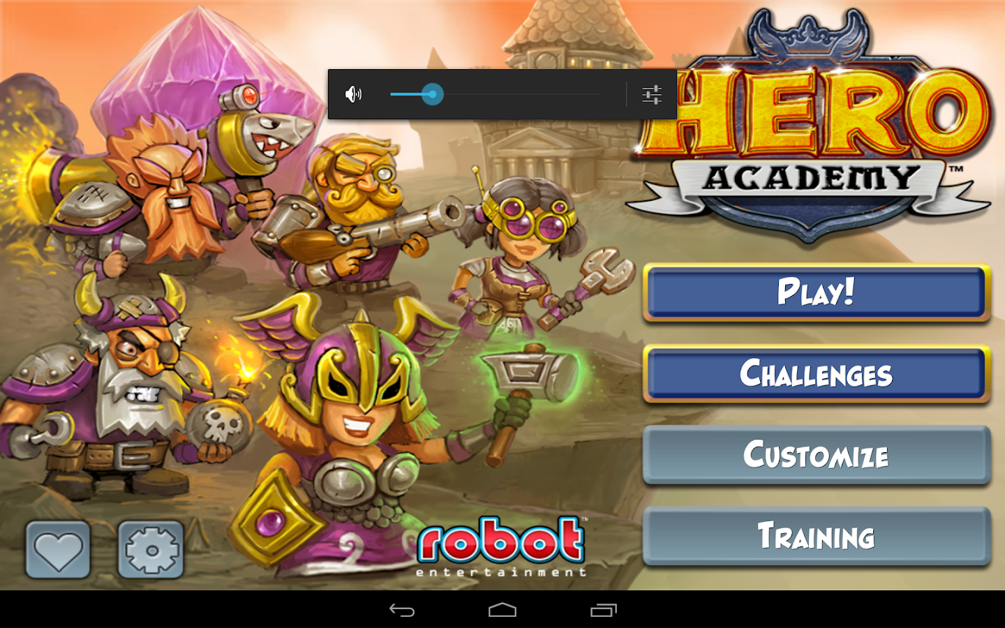 Hero Academy - screenshot