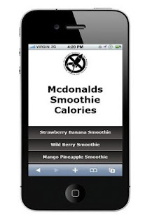 Mcdonalds Smoothie Calories - screenshot thumbnail