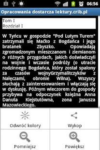 Streszczenia Lektur PRO- screenshot thumbnail