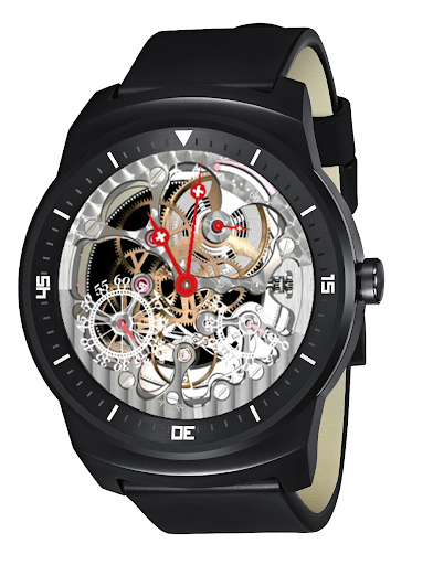 Tell's Round Skeleton Watch NC