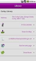 Screenshot of NCC - Northamptonshire