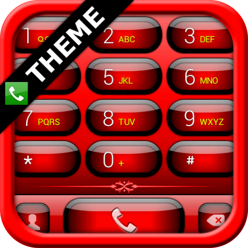 exDialer Jelly Red Theme
