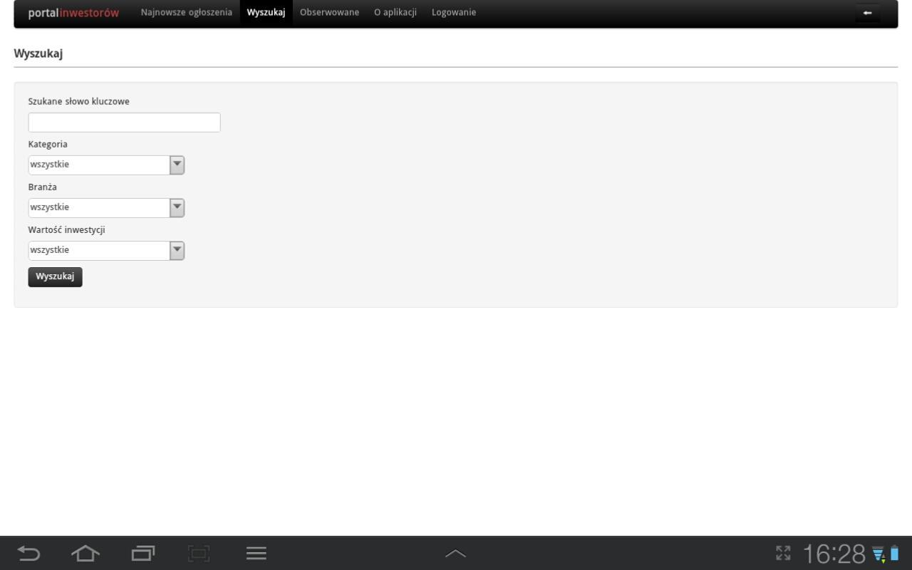 Inwestorzy.biz- screenshot
