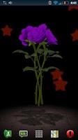 Screenshot of 3D Rose Bouquet Live Wallpaper