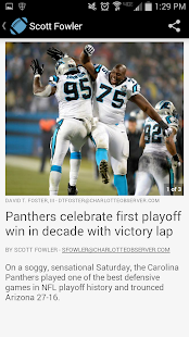 Carolina Panthers News- screenshot thumbnail