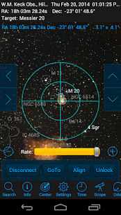 SkySafari 4 Pro Astronomy- screenshot thumbnail