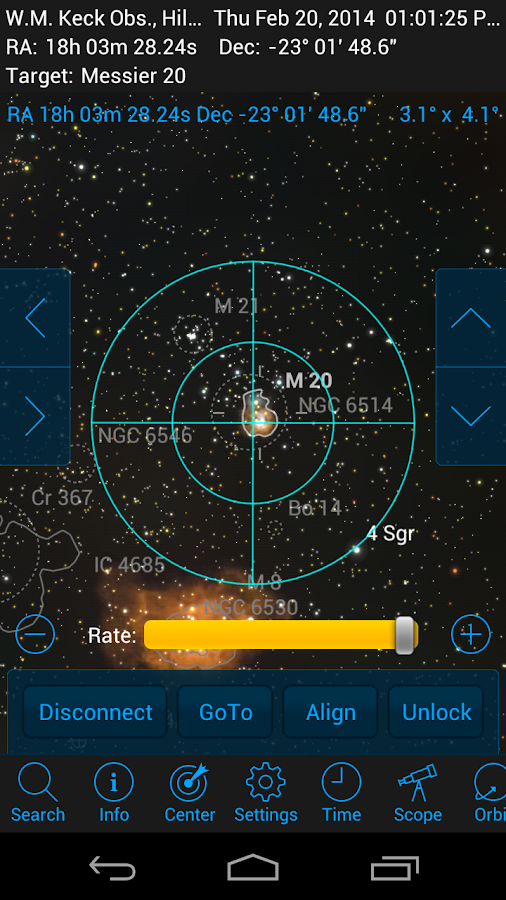 SkySafari 4 Pro - screenshot