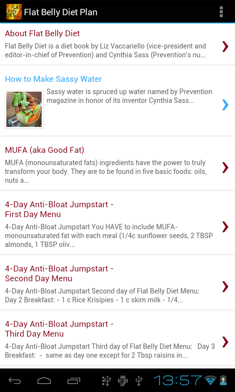 Flat Belly Diet Plan - Android Apps on Google Play