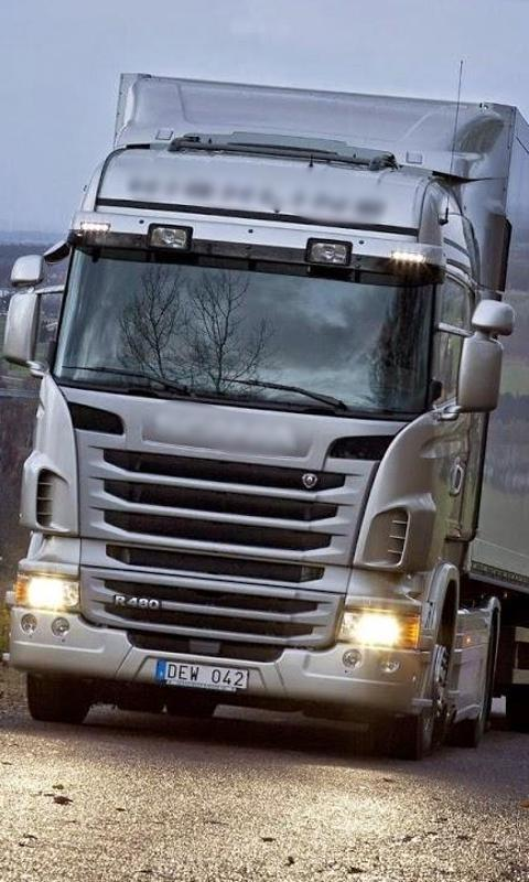 Top Wallpaper Scania Truck Screenshot