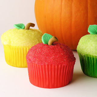 Fall Apple Cupcakes