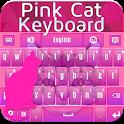 Pink Cat Keyboard icon
