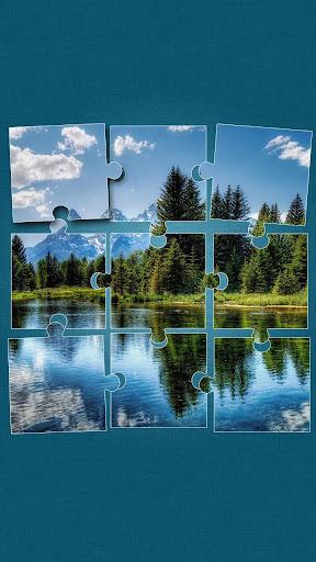 大自然 益智遊戲 – 風景 拼圖遊戲
