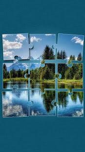 Příroda Puzzle Hry: Krajiny - náhled