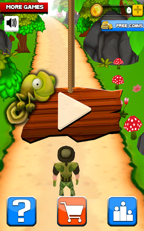 Wild Run : A Hunting Game- screenshot