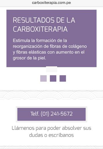 Carboxiterapia en Perú