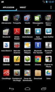 Faenza Theme for Go Launcher - screenshot thumbnail