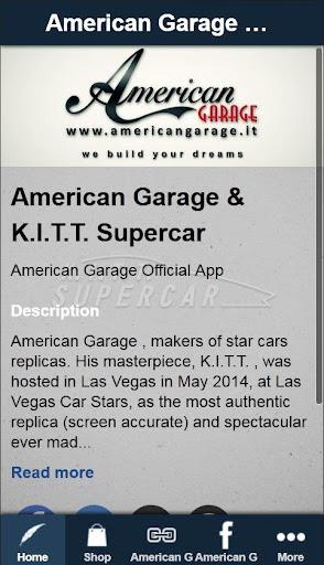 American Garage Kitt Supercar