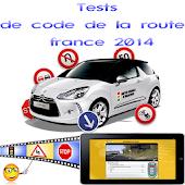 Tests code de la route france