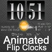 Live Wallpaper Flip Clock